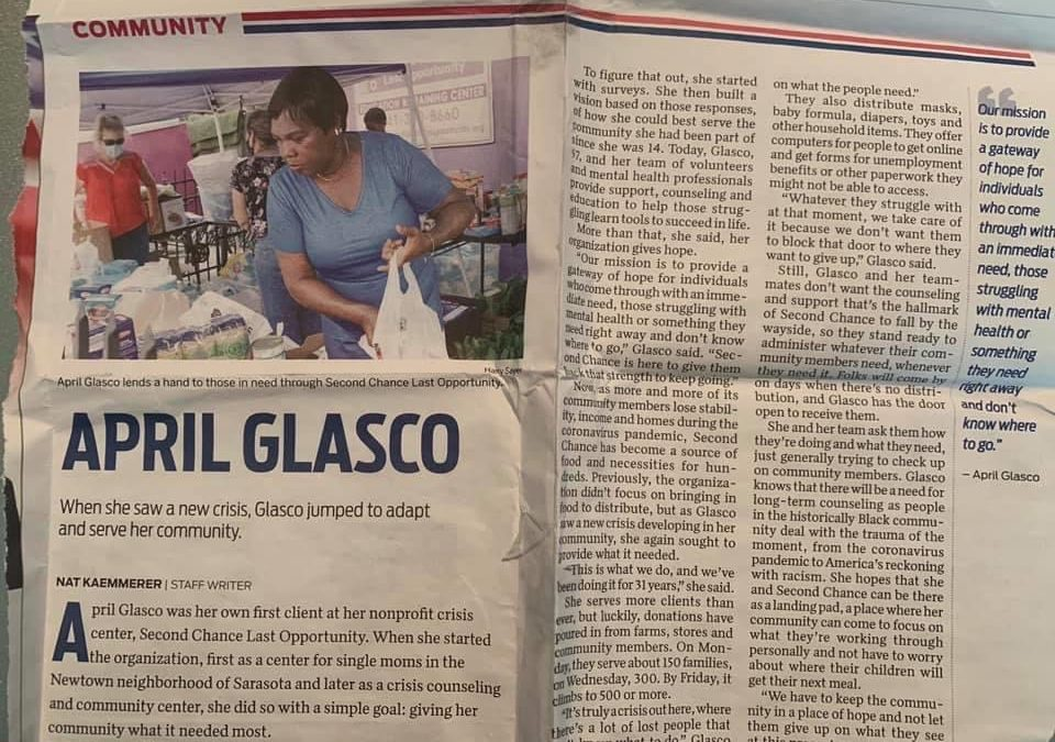 April Glasco in the News